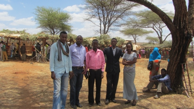 TEC staff and students at conference in Borana